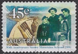Australia SG1895 1999 Snowy Mountain Scheme 45c Good/fine Used [12/12260/6D] - 1990-99 Elizabeth II