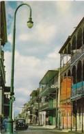 Louisiana New Orleans Street Scene In French Quarter