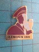PIN915b : THEME BOISSON : VIN BLANC  LIMOUX 1531 MAITRE GOUSTIER  ; Pas Commun Et En Très Bel état !!! - Boissons