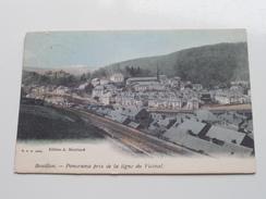 Panorama Pris De La Ligne Du Vicinal ( Ed. A Bourland ) Anno 1907 ( Zie Foto Voor Details ) !! - Bouillon