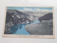 Panorama Du Chateau - Au Premier Plan, La Semois ...... ( 5 - Isabel ) Anno 1930 ( Zie Foto Voor Details ) !! - Bouillon