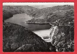 C-P-S-M(12.Aveyron)-en Avion Au Dessus  ...Barage-de-SARRANS-le Barrage Et Le Lac. - Frankreich