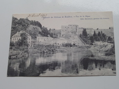 Souvenir Du Château - Vue De La Digue ( Stroobant ) Anno 1907 ( Zie Foto Voor Details ) !! - Bouillon