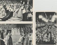 7 / 7 /159  -    LOT  DE  6  CPM  ( Grands Modèles )  -  COURONNEMENT  DE  LA  REINE  ÉLIZABETH  II - Familles Royales