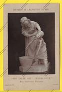 """PARIS EXPOSITION UNIVERSELLE 1878 ANCIENNE PHOTO Papier Sur Carton """" YOU DIRTY BOY ! EST IL SALE """"(LONDON) - Photographs"""