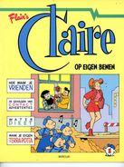 Claire 1 - Op Eigen Benen (1ste Druk)  1990 - Claire
