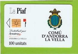 PIAF : ANDORRA LA VELLA  = 2000 Ex . - Andorra