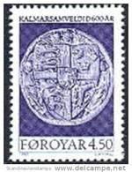 FAROER 1997 600 Jaar Kalmar PF-MNH-NEUF - Färöer Inseln