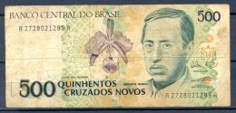 459-Brésil Billet De 500 Cruzados Novos 1990 A2728A - Brazil