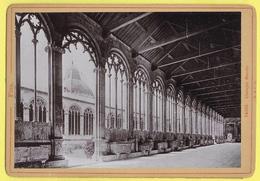 """ITALIE PISE CAMPOSANTO PISA """" Gallerie """" Photografia CIRCA 1880 """"R & J D """" - Lieux"""