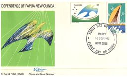 (110) Australia FDC Cover - 1975 (Papua) - Premiers Jours (FDC)