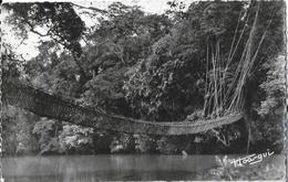 République Centrafricaine - Près Gamboula: A.E.F. Pont De Lianes - Carte Hoagui (librairie Au Messager) - República Centroafricana