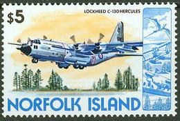Norfolk Island 1980, Lockheed C-130 Hercules Aircraft Mi.# 254, MNH / ** - Norfolk Island