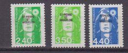 S.P.M.-1993-N°587/589** MARIANNE DU BICENTENAIRE - St.Pierre Et Miquelon