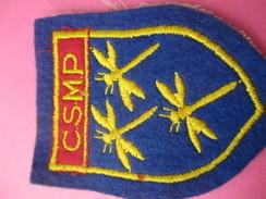 Ecusson Tissu/ Armoiries De La Commune De PERSAN (95)//CSMP/ Trois Libellules / Années 1960 - 1970        ET171 - Patches