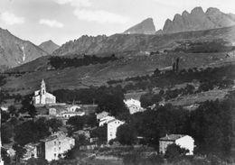 CPSM Dentellée - CALACUCCIA (20)(2B) - Aspect Du Village , Du Pagliorba Et Des Cinque Frati Dans Les Années 50 - Andere Gemeenten