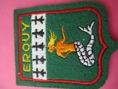 Ecusson Tissu/ERQUY/ Cotes D'Armor/ Années 1960 - 1970        ET178 - Patches