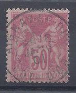 FR - N° 104 - N/B - Oblitéré - B/TB - COTE 38 €. - 1876-1878 Sage (Type I)
