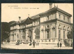 CPA - GRENOBLE - Le Musée, Animé - Grenoble