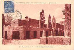 FRANCE - POSTCARD EXPOSITION COLONIALE 1931 Mi #262 - Briefe U. Dokumente