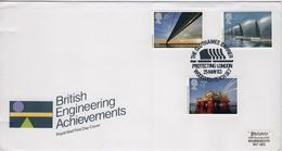 Great Britain First Day Cover Celebrating British Engineering Achievements 1983. - FDC