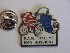 Pin's - Motos - P.A.M Rallye BMO HUSSIGNY - Motorbikes