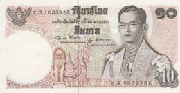 (B0747) THAILAND, 1969-1978 (ND). 10 Baht. P-83. UNC - Thailand