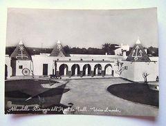 Cartolina Alberobello Hotel Ristorante Dei Trulli 1962 - Bari