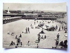 Cartolina Catania - Spiaggia Plaia Lido Spampinato 1950 - Catania