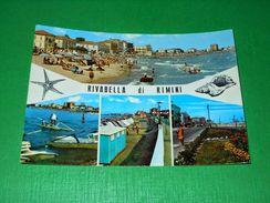 Cartolina Rivabella Di Rimini - Vedute Diverse 1966 - Rimini