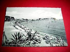 Cartolina Trani - Spiaggia Di Colonna 1950 Ca - Bari