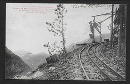 LUCHON - Chemin De Fer à Crémaillère De Superbagnères  - Le Tournant De Mail De La Soulan - Luchon