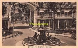CPA VENEZUELA JARDINES DEL CAPITOLIO CARACAS - Venezuela
