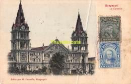CPA ECUADOR GUAYAQUIL LA CATEDRAL - Equateur