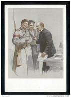 USSR 1967 Propaganda, Lenin, Portrait, Art, Painting, Painter P.Vasylev ** - 1923-1991 URSS