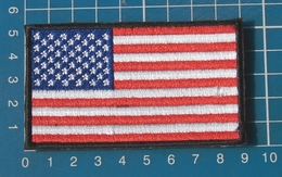 USA American Flag Patch Sew On Embroidery - Flags