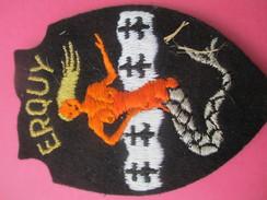 Ecusson Tissu/ERQUY /Côtes D'Armor/Années 1960 - 1970        ET181 - Patches
