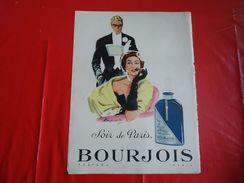 Pub De 1953 - Parfums BOURJOIS - Soir De Paris - - Publicités