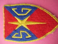 Ecusson Tissu/SG / Origine à Déterminer  /Années 1960 - 1970        ET184 - Patches