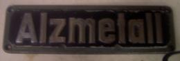 Altenmarkt - Alzmetall   - Plaque  Machine - Outil - Werkzeuge