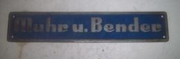 Gruenberg - Hesse  - Muhr U. Bender    - Plaque  Machine - Outil - Werkzeuge