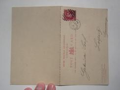 1894 GIBRALTAR STATIONERY COVER To GERMANY - Gibraltar