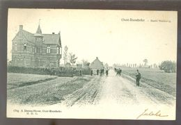Oost - Roosbeke ( Oostrozebeke)    :   Statiesteenweg - Oostrozebeke