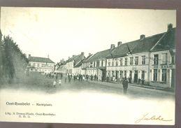 Oost - Roosbeke ( Oostrozebeke)    :   De Markt - Oostrozebeke