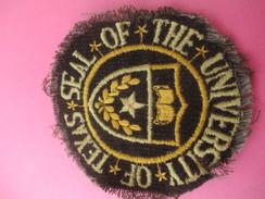 Ecusson Tissu/Seal Of The University Of Texas / Austin / USA/Années 1960-1970   ET188 - Patches