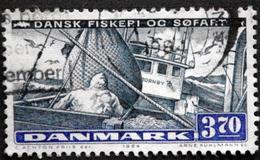 Denmark 1984 Fischerei Und Schiffahrt Minr.815 (O)  ( Lot  C 3079 ) - Oblitérés