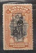 CONGO TX 48 T15 Mint Neuf - Portomarken: Ungebraucht