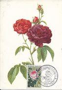 Carte Maximum Fdc,france, Roses De France, 8/9/62 Vertolayes, N°1357 - 1960-69