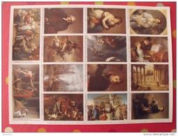 Planche De 14 Images Arnaud N° 123. Chefs-d´oeuvre De La Peinture (greuze à David) . à Découper Pour Album - Other