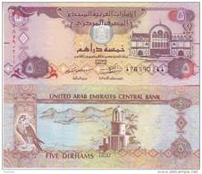 United Arab Emirates  Newly Issued  5 Dirhams   Dated 2015    UNC - Emiratos Arabes Unidos
